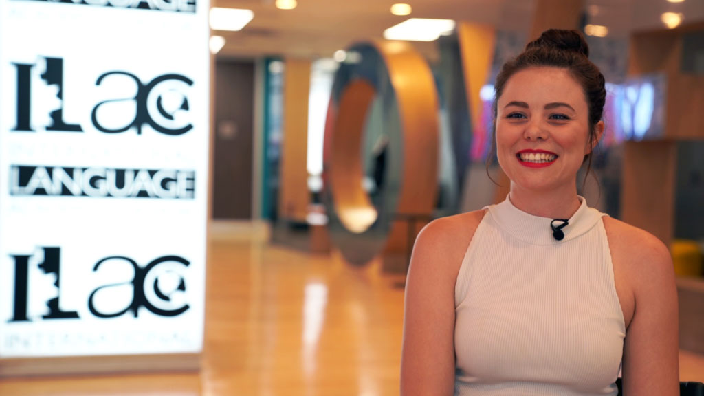 Charlotte from Germany ilac testimonial video