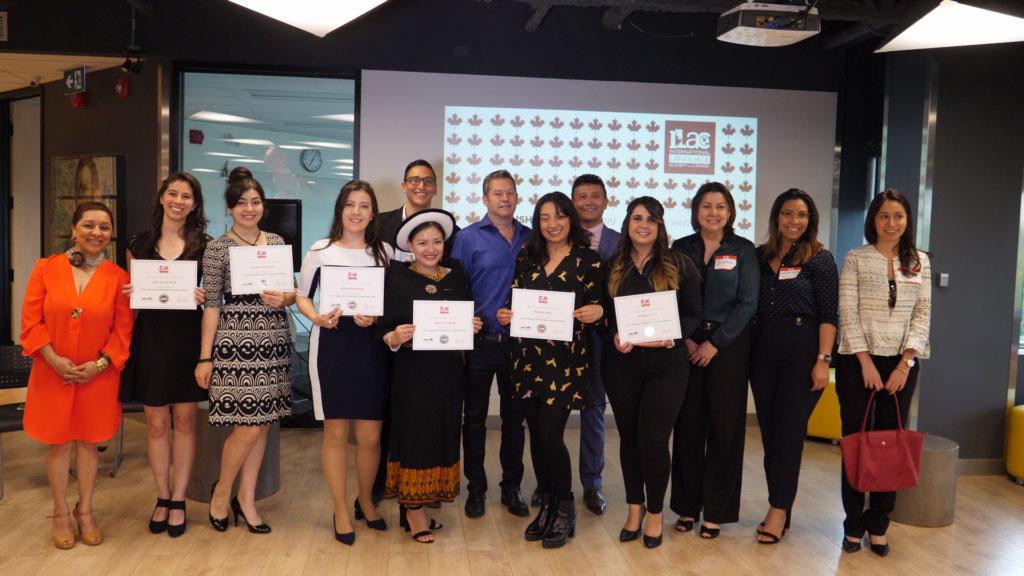 ILAC scholarship Hispanic women promo video