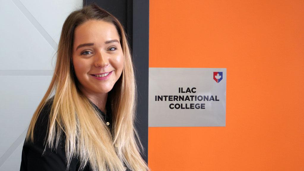 Kristina from Czech republic ilac testimonial video